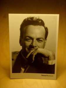 feynman-postcard