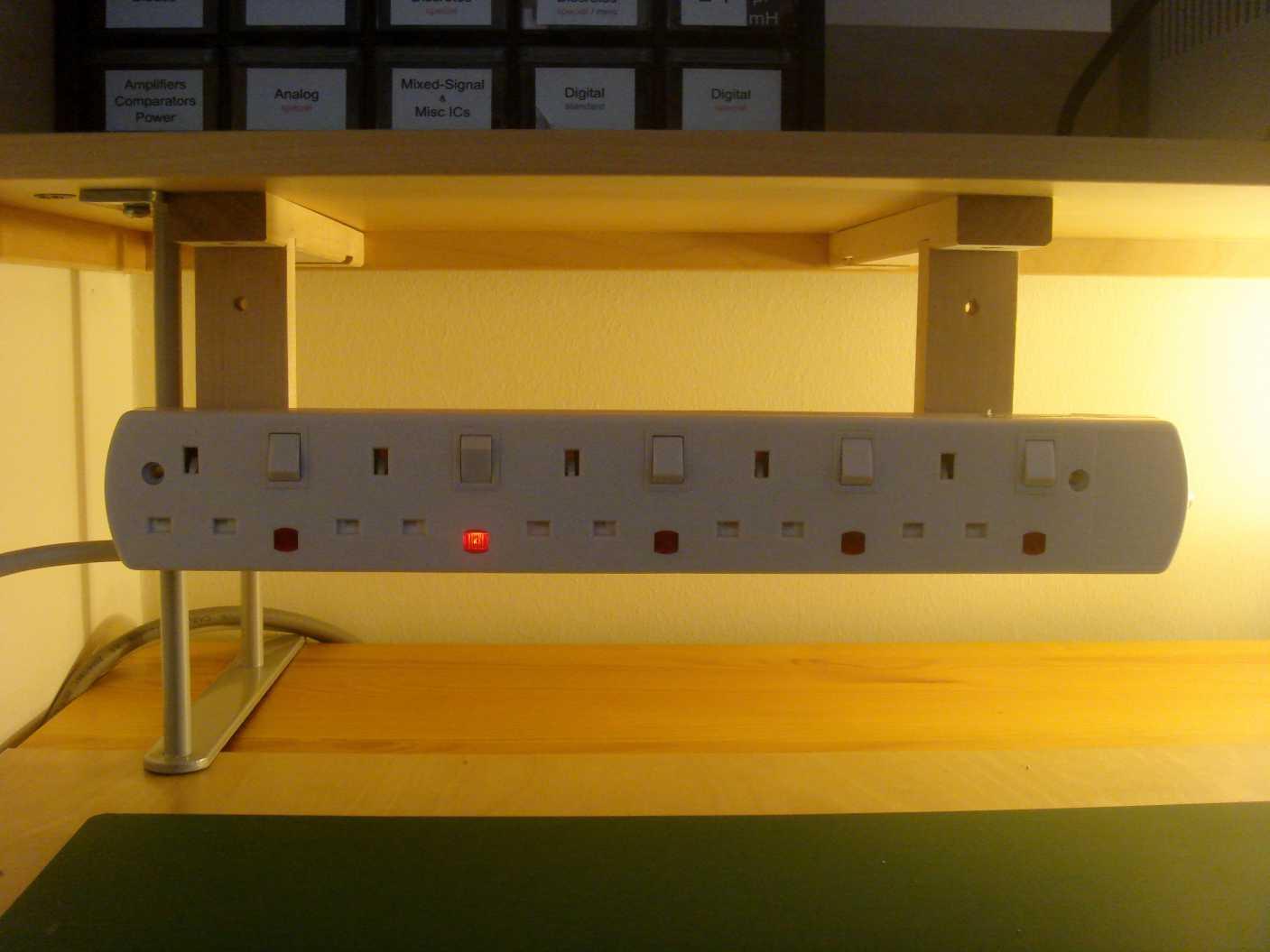 Desk Mount Power Strip Hostgarcia